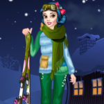 Princess Winter Skiing
